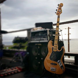 Daydream Cathedral Bass Rig